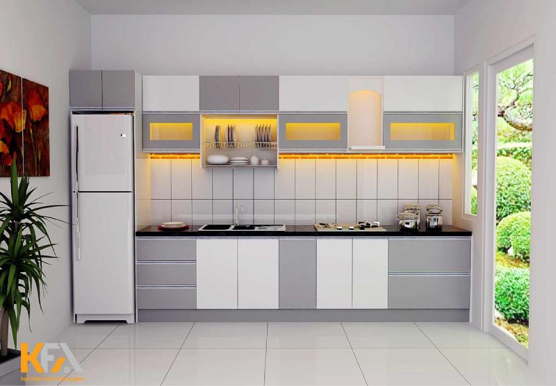 Tủ bếp MFC được coi là chất liệu cao cấp của tương lai