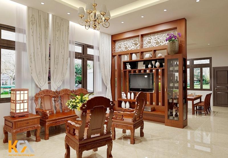 Lựa chọn nội thất phù hợp giúp căn phòng rộng rãi hơn