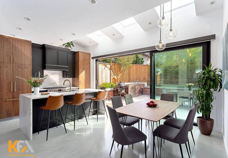 Tạo điểm nhấn ấn tượng là yếu tố hàng đầu trong thiết kế chung cư 70m2