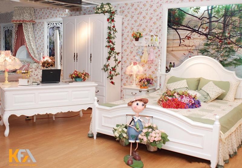 Thiết kế phòng cưới hiện đại cho đôi vợ chồng trẻ