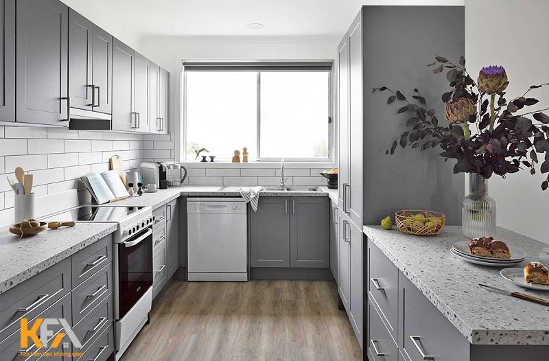 Hướng bếp cần được xem xét kỹ lưỡng dựa trên vị trí địa lý của toàn bộ ngôi nhà