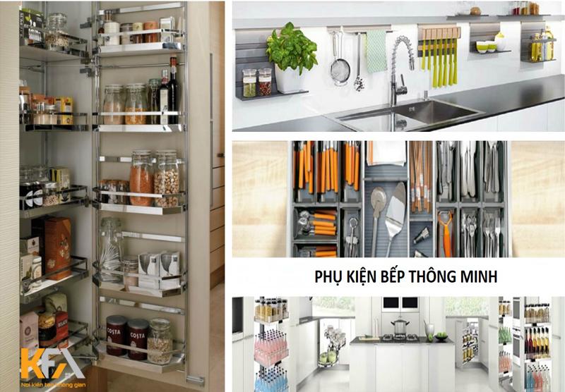 Căn bếp hiện đại, đầy tiện nghi