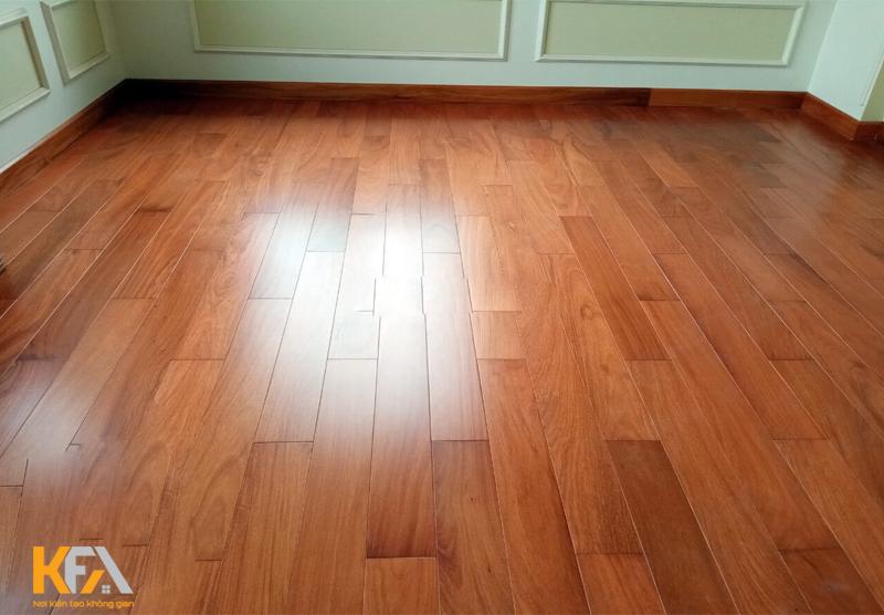 Sàn gỗ nhãn mịn, vân gỗ độc đáo