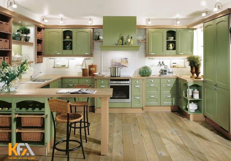 Bếp chính là không gian tuyệt vời để chúng ta có thể thể hiện tình cảm với nhau