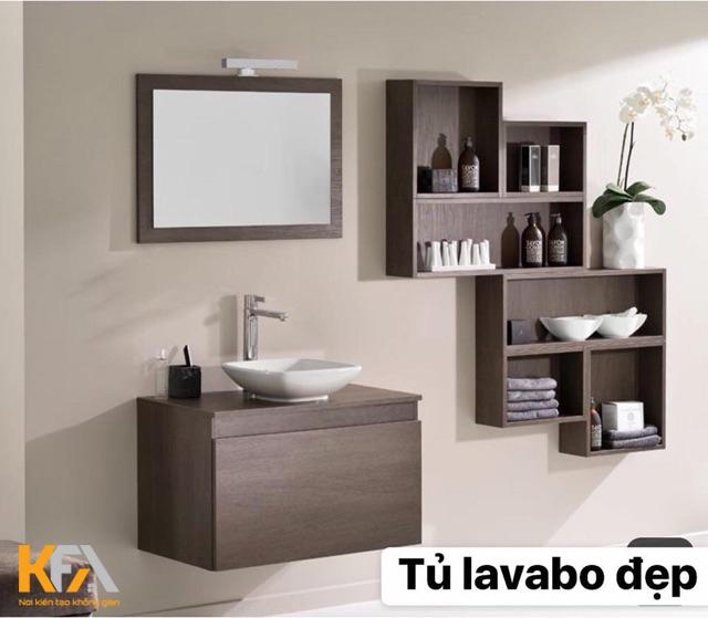 Mẫu tủ lavabo đẹp nhất 2021