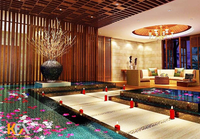 Spa phong cách Luxury