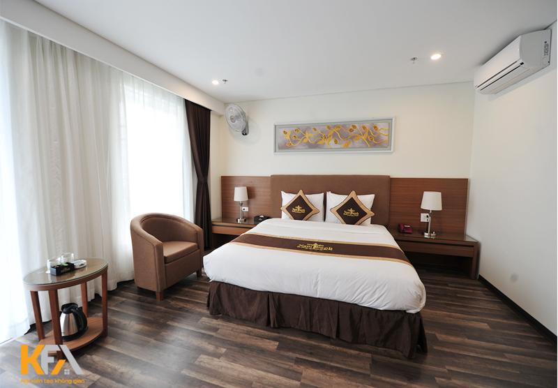 Phòng nghỉ 1 giường ngủ sang trọng
