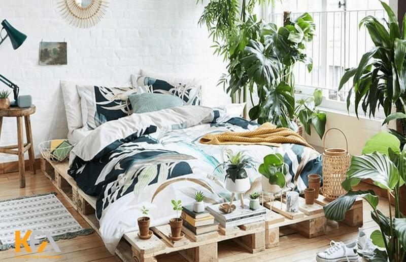 Tropical Style sẽ giúp cho chủ nhân đắm chìm với không gian thiên nhiên chất lượng