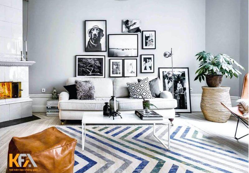 Chọn màu sắc thảm trải chín là yếu tố quan trọng để tạo nên nét đẹp thẩm mỹ không gian