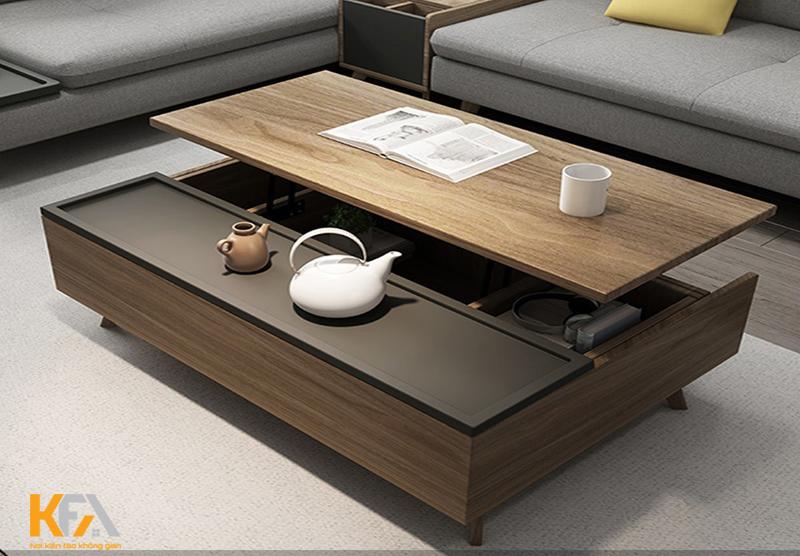Kiểu dáng vuông chỉ phù hợp với những diện tích phòng khách lớn