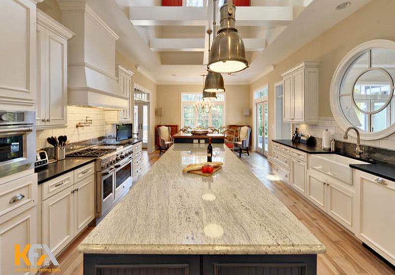 Marble xám cùng đường vân gỗ đẹp, màu sắc đá hấp dẫn và lôi cuốn mọi ánh mắt