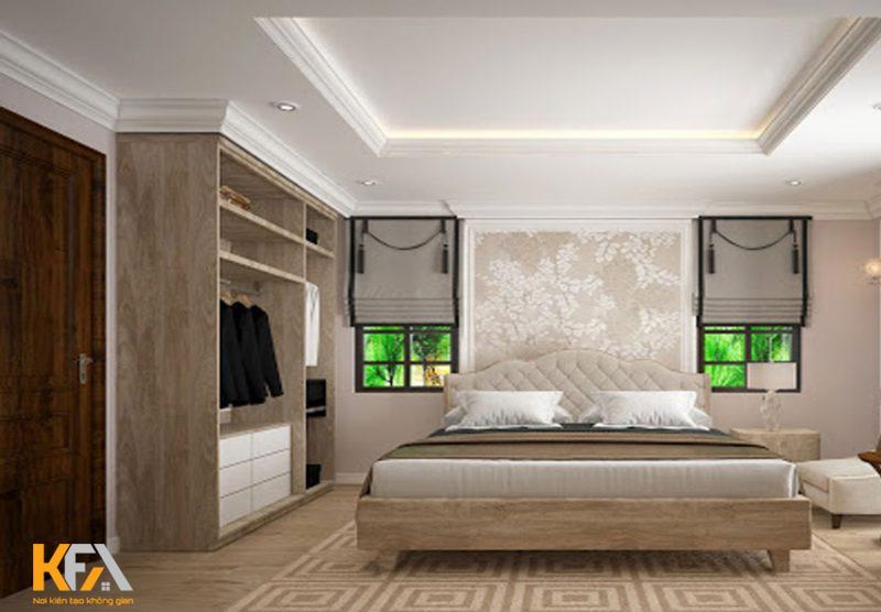 Không gian thiết kế đơn giản, màu sắc hài hòa