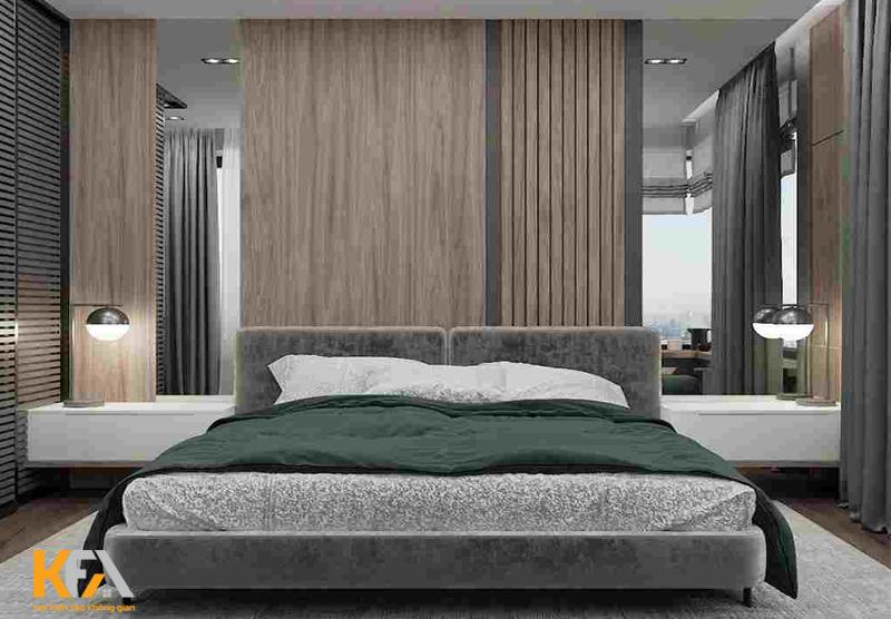 Vật liệu gỗ công nghiệp làm vách ốp có nhiều thương hiệu và màu sắc đa dạng