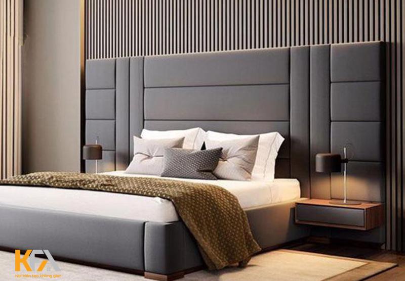 Tone màu trung tính cho không gian nghỉ ngơi thêm thoải mái