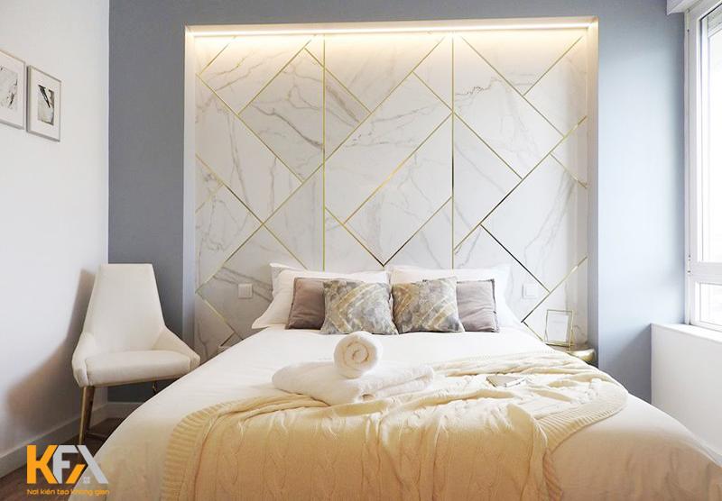 Màu sáng cho không gian phòng ngủ thêm ấn tượng