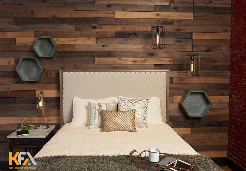 Thiết kế hiện đại bằng gỗ tự nhiên