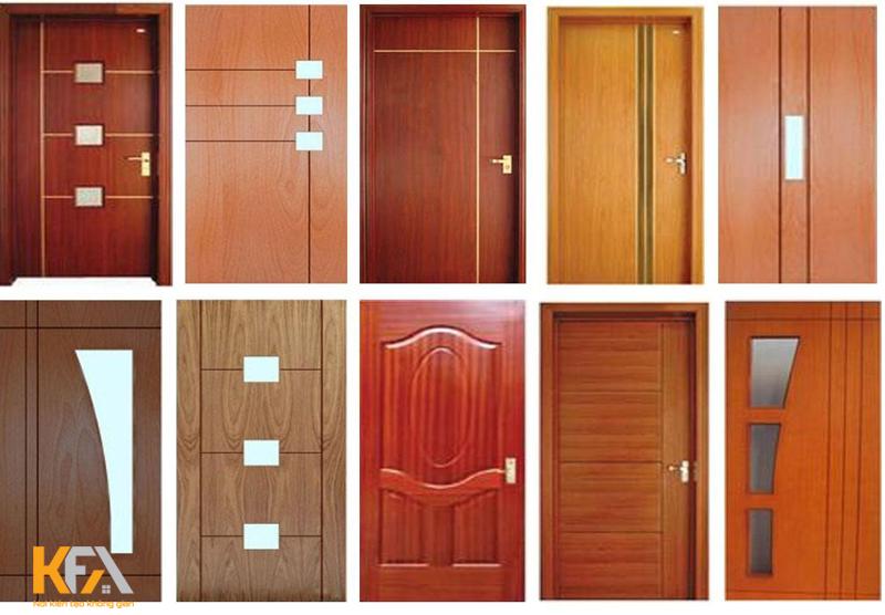 Một điểm nhấn ấn tượng cho những vị khách khi bước vào ngôi nhà đó là thiết kế cửa đẹp mắt và độc đáo