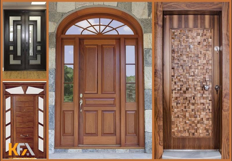 Tổng hợp 50 mẫu cửa gỗ tự nhiên và cửa gỗ công nghiệp