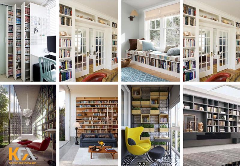 Mẫu thiết kế phòng đọc sách phù hợp mọi lứa tuổi