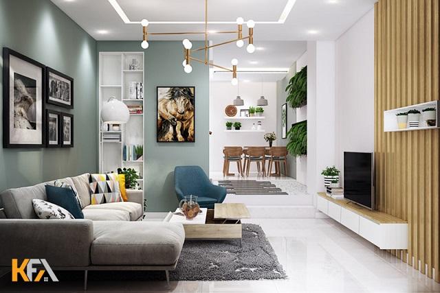 Tạo điểm nhấn trong thiết kế căn hộ