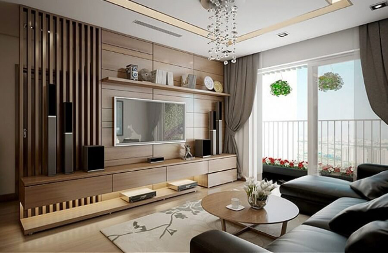 Thiết kế nội thất chung cư Sơn Tây- anh Cấn