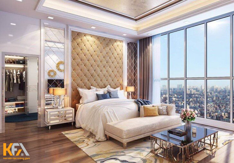 Thiết kế phòng khách, phòng làm việc với nội thất đơn giản