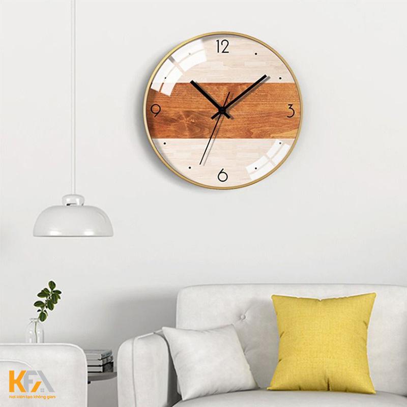 Đồng hồ trang trí dạng khung ảnh