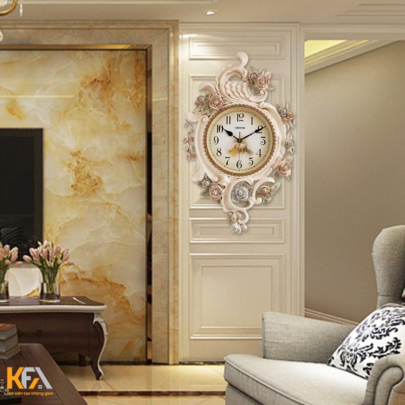 Đồng hồ treo tường phòng khách có công dụng gì?