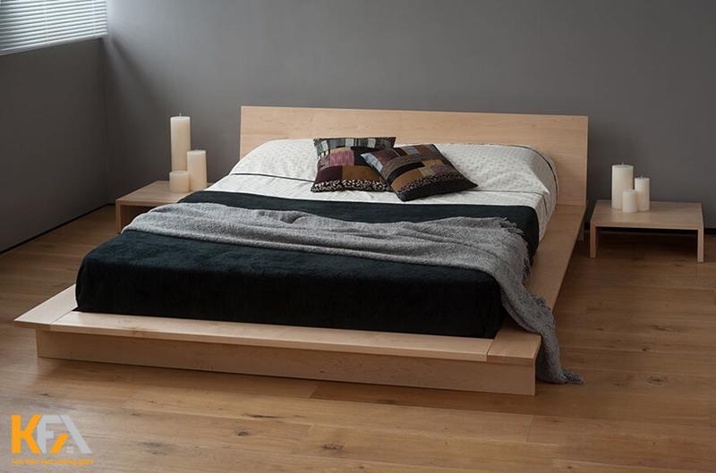 Một chiếc giường ngủ kiểu nhật đi kèm với nhiều ích sức khỏe