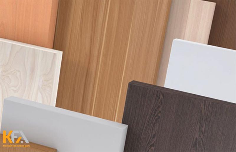 Các loại gỗ dùng để chế tạo sản phẩm của An Cường
