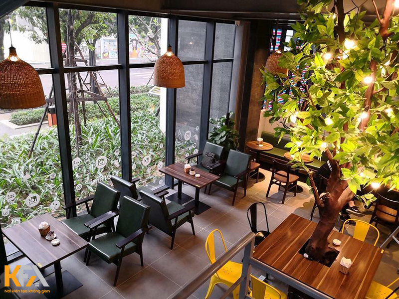 Top 30+ mẫu bàn ghế cafe đẹp