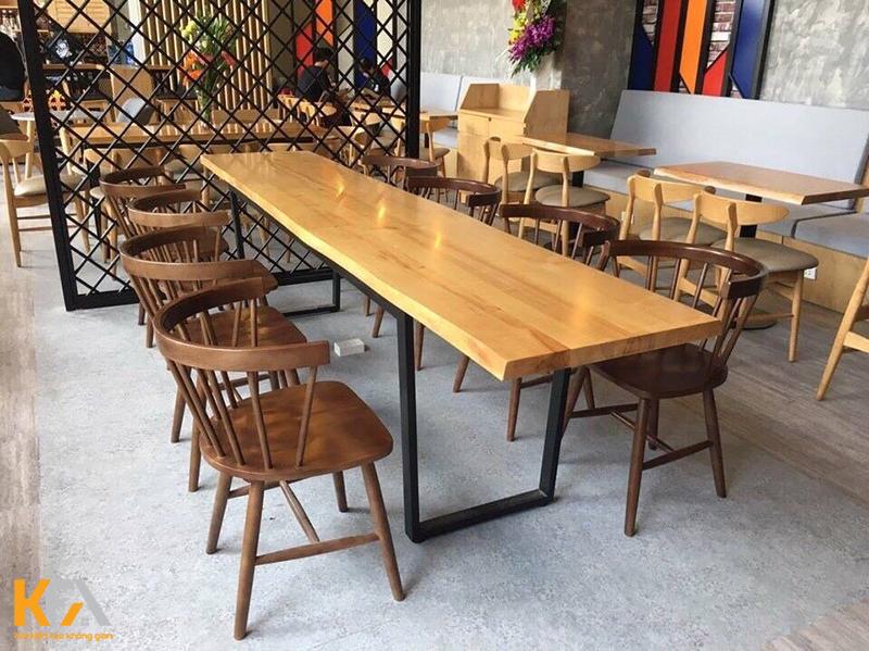 Vì sao chủ đầu tư bàn ghế cafe ấn tượng?