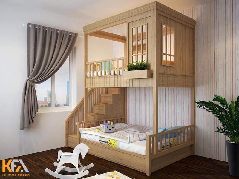 Vài nét khái niệm sơ qua về mẫu giường tầng