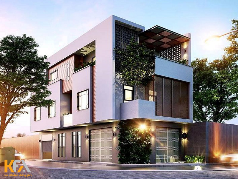 Thiết kế nhà phố diện tích nhỏ – Tối ưu chi phí và công năng