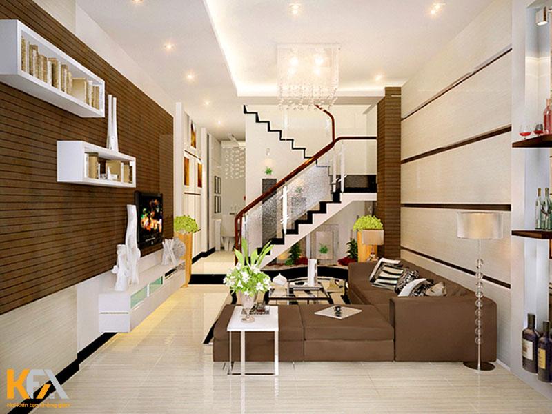 Bí quyết thiết kế phòng khách liền phòng ngủ tiết kiệm diện tích