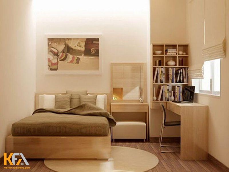 Phòng ngủ màu hồng, đáng yêu nhẹ nhàng
